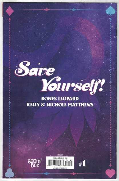 Save Yourself #1 1:25 Stephanie Gonzaga Virgin Design Variant Boom 2021 VF/NM