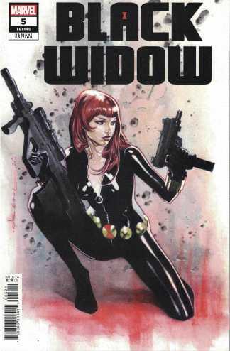 Black Widow #5 1:25 Coipel Variant Marvel 2020