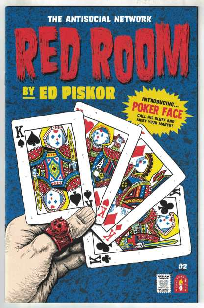 Red Room #2 1:10 Piskor Variant Fantagraphics 2021 VF/NM