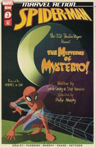 Marvel Action Spider-Man #3 1:10 Florean Variant IDW 2020 Mysterio