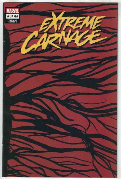 Extreme Carnage Alpha #1 1:50 Wraparound Symbiote Variant Marvel 2021 VF/NM