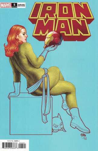 Iron Man #5 1:25 Cho Hellcat Variant Cantwell Marvel 2020