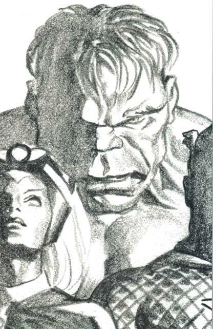Immortal Hulk #37 1:100 Alex Ross Timeless Virgin Sketch Variant Marvel