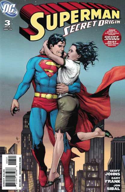 Superman Secret Origin 1:10 Gary Frank Variant Lois Lane DC 2009 Geoff Johns