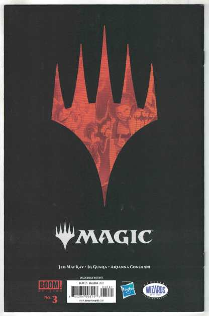 Magic the Gathering #3 B&W Virgin Scalera Unlockable Variant Boom! 2021 VF/NM