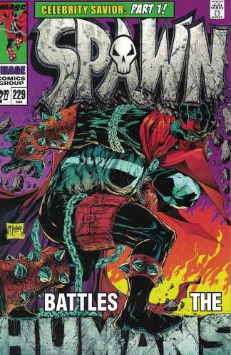 Spawn #229 Cover A McFarlane Hulk Annual #1 Homage Image 1992