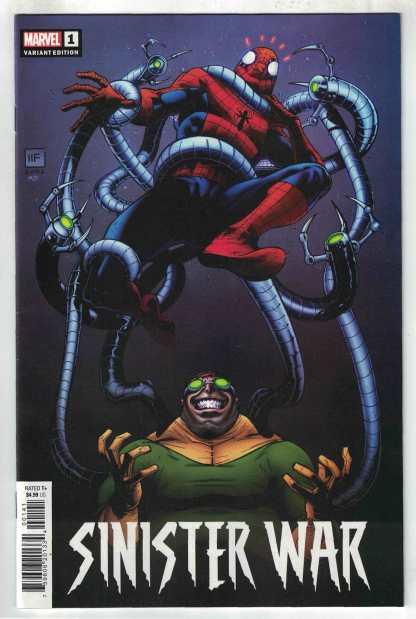 Sinister War #1 1:25 Ferreira Variant Marvel 2021 VF/NM