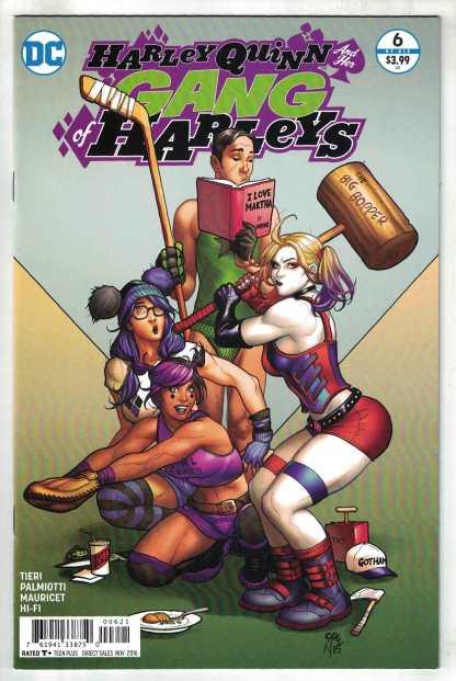 Harley Quinn and Her Gang of Harleys #6 1:25 Frank Cho Variant DC 2016
