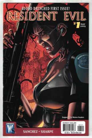 Resident Evil #1 Badeaux Variant DC Wildstorm 2009 VF/NM