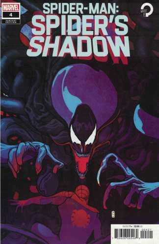 Spider-Man Spiders Shadow #4 1:25 Christian Ward Variant Marvel 2021 Zdarsky