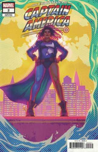 United States of Captain America #2 1:25 Souza Variant 1st Nichelle Marvel 2021