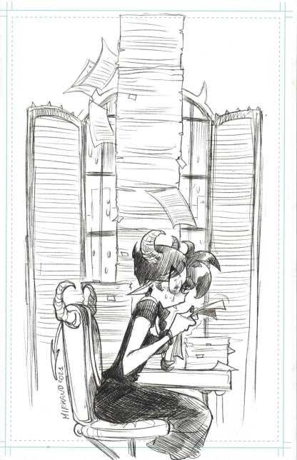 Sweet Paprika #1 1:100 Mirka Andolfo B&W Virgin Sketch Variant Image 2021