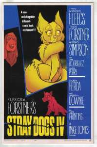 Stray Dogs #4 3rd Print Forstner & Fleecs Psycho Variant Image 2021
