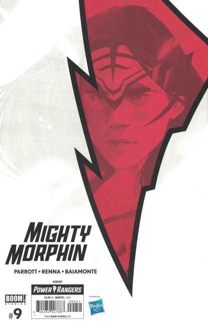 Mighty Morphin #9 1:25 Goni Montes White Ranger Variant Boom 2020 Ryan Parrott