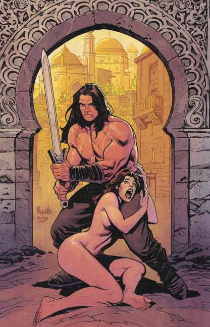 Cimmerian The Man-Eaters of Zamboula #1 1:10 Paquette Virgin Variant Ablaze 2021