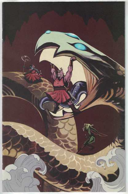 Orcs #6 1:10 Qistina Khalidah Virgin Variant Kaboom 2021 Christine Larsen VF/NM