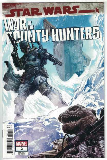 Star Wars War of the Bounty Hunters #2 1:50 Checchetto Variant Marvel 2021 VF/NM