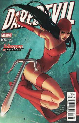 Daredevil #5 Sara Pichelli Women of Power Variant Elektra Marvel 2016 Soule