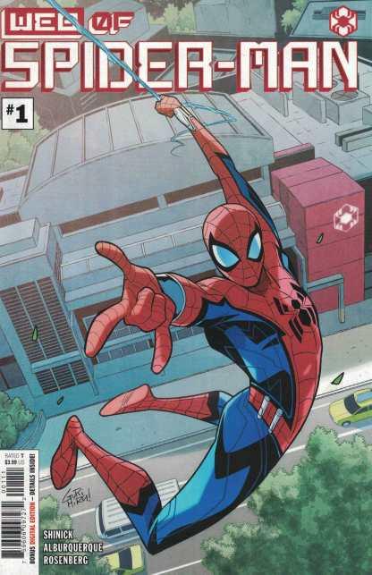 Web of Spider-Man #1 Gurihiru 1st Print A CVR Marvel 2021 1st Harley Keener