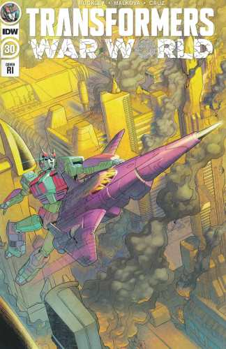 Transformers #30 1:10 Shepherd Variant IDW 2019