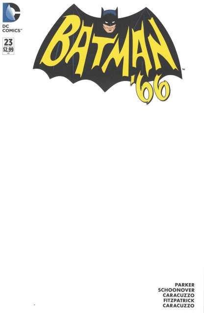 Batman '66 #23 Blank Variant DC 2013