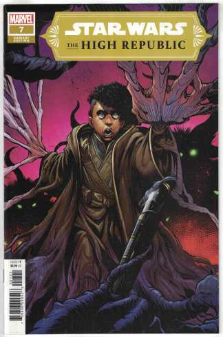 Star Wars High Republic #7 1:25 Height Variant Keeve Marvel 2021 VF/NM