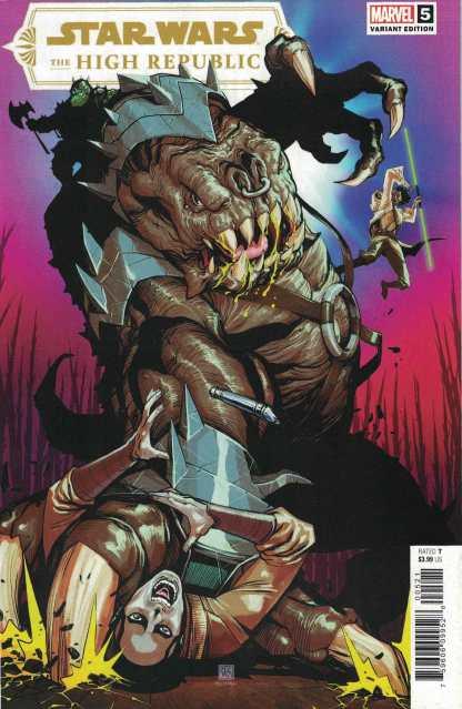 Star Wars High Republic #5 1:25 Chang Variant Marvel 2021
