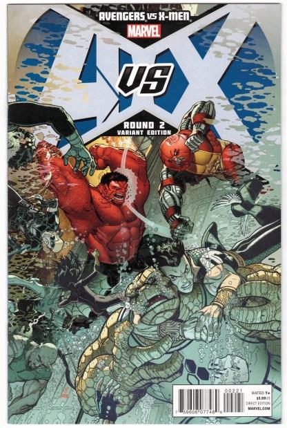 Avengers vs X-Men #2 1:100 Nick Bradshaw Variant Marvel 2012 AvX VF/NM