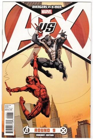 Avengers vs X-Men #9 Larroca Full Color Variant Archangel 2012 AvX VF/NM
