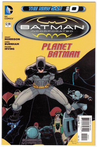 Batman Incorporated #0 Aaron Kuder Variant DC New 52 2012 VF/NM