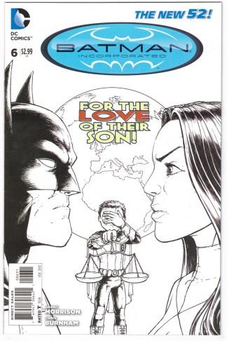 Batman Incorporated #6 1:100 Chris Burnham Variant DC New 52 2012 VF/NM