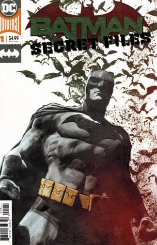 Batman Secret Files #1 Mikel Janin Gold Foil Cover DC 2018