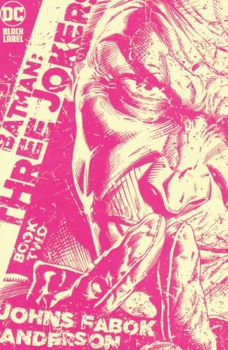 Batman Three Jokers #2 1:25 Jason Fabok Yellow Variant DC 2020