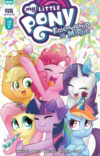 My Little Pony Friendship Is Magic #100 1:10 Agnes Garbowska Variant IDW