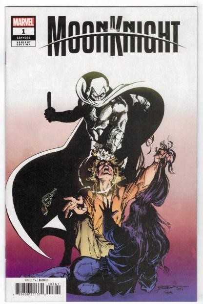Moon Knight #1 1:100 Bill Sienkiewicz Hidden Gem Variant Marvel 2021 VF/NM