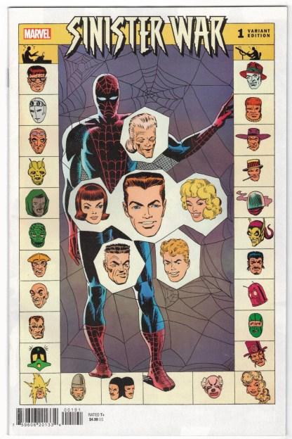 Sinister War #1 1:100 Ditko Hidden Gem Variant Marvel 2021 VF/NM