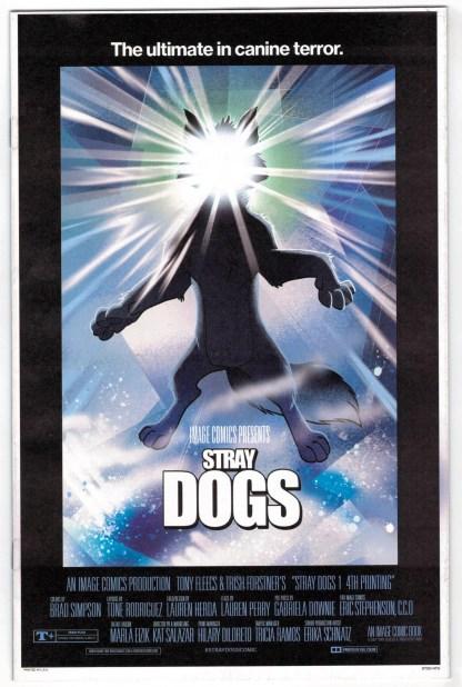 Stray Dogs #1 4th Print Forstner and Fleecs The Thing Horror Variant 2021 VF/NM