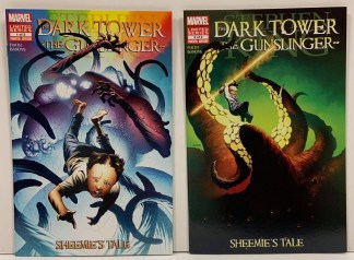 Dark Tower Gunslinger Sheemie's Tale Complete Set #1-2 Marvel 2013 VF/NM