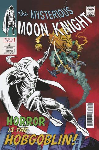 Moon Knight #2 1:50 Romita Sr Hidden Gem Variant Marvel 2021 Ships 8/18
