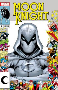 Moon Knight #2 Ultimate Comics Exclusive Scot Eaton Marvel Frame Variant 2021 Ships 8/18
