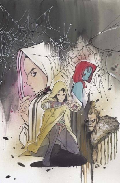 Demon Days Cursed Web #1 1:500 Peach Momoko Virgin Variant Spider-Gwen Ships 9/1