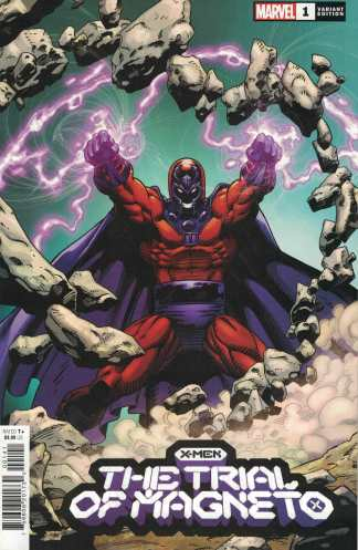 X-Men Trial of Magneto #1 1:50 Capullo Variant Marvel 2021