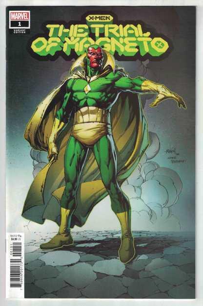 X-Men Trial of Magneto #1 1:25 Finch Variant Vision Marvel 2021 VF/NM