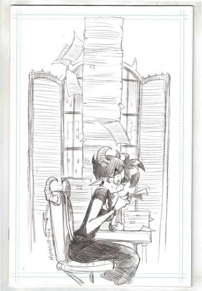 Sweet Paprika #1 1:100 Andolfo B&W Virgin Sketch Variant Image 2021 VF/NM