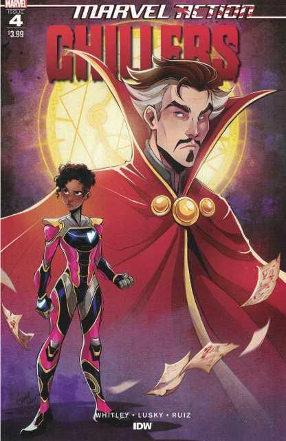 Marvel Action Chillers #4 Lusky Variant Ironheart Riri Williams Marvel 2020