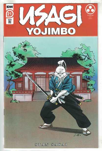 Usagi Yojimbo #21 1:10 Soo Lee Variant IDW 2019 Stan Sakai VF