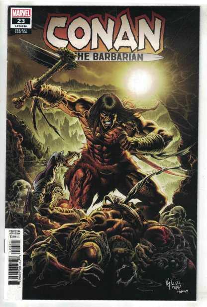 Conan the Barbarian #23 1:25 Hotz Variant Marvel 2019 VF/NM