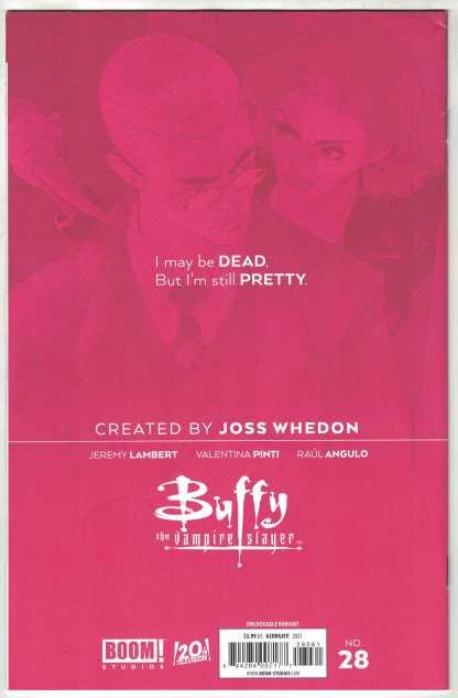 Buffy the Vampire Slayer #28 Georgiev Virgin 1 Per Store Variant Boom 2019 VF/NM