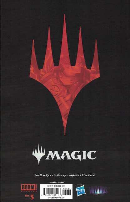 Magic the Gathering #5 Khalidah 1 Per Store Virgin Variant Boom 2021 Jed MacKay