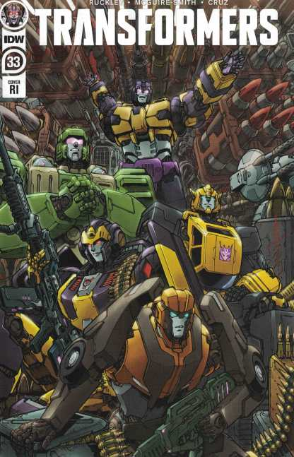 Transformers #33 1:10 Winston Chan Varaint IDW 2019 Brian Ruckley